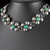 Coco and Benny 1930's Art Deco Vintage Mexican Choker